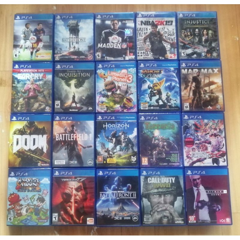 P1 S Cheap Ps4 Games 104th Release Shopee Philippines