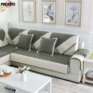 Miraculous Top1 Plush Cushion Dark Green Sectional Furniture Protector Couch Covers Uwap Interior Chair Design Uwaporg