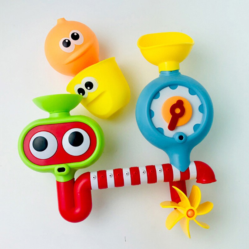 ★gentle Fun baby bath toys shower automatic spout play water toy