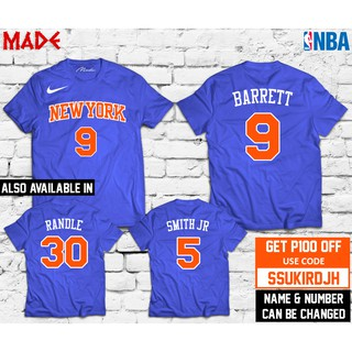 best sneakers b7b7c 89682 NBA - New York Knicks RJ Barrett Julius Randle Jersey Shirt ...