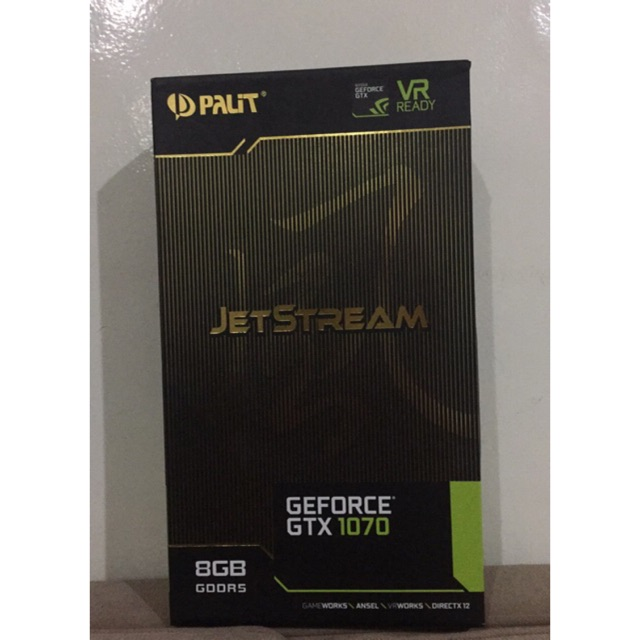 PALIT GTX1070 JETSTREAM 8GB DDR5 256 BIT DVI