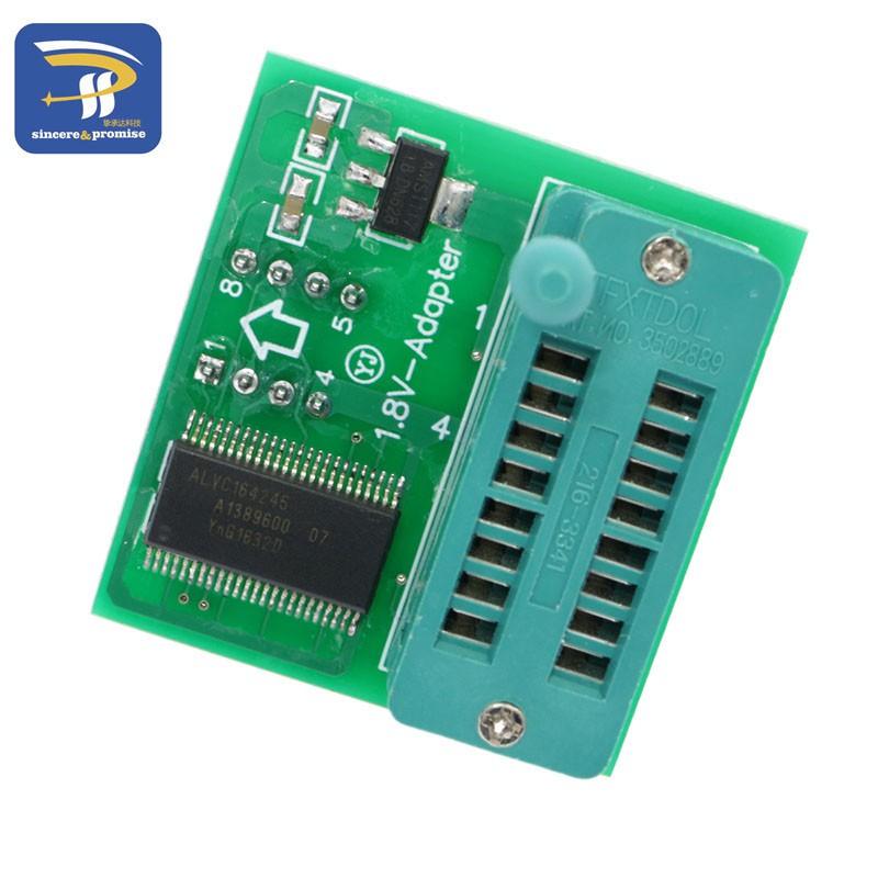 1 8V adapter SPI Flash SOP8 DIP8 programmers TL866CS TL86