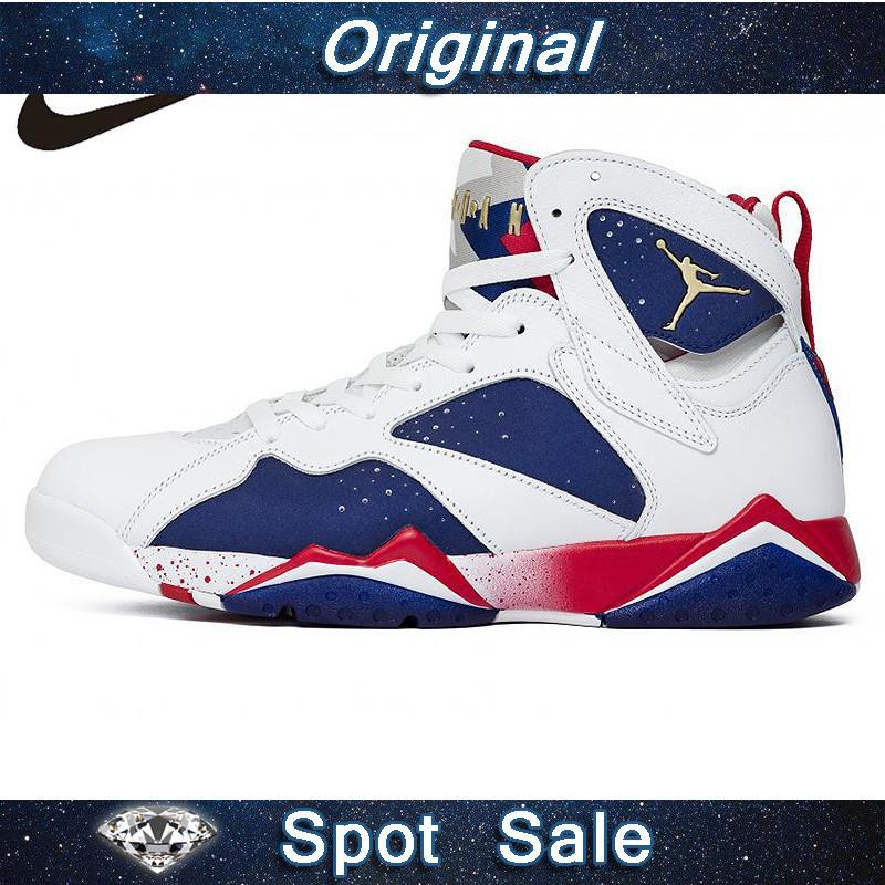 459b8d20df43 Nike Air Jordan 7 Bordeaux AJ7 Women s Basketball Sneakers