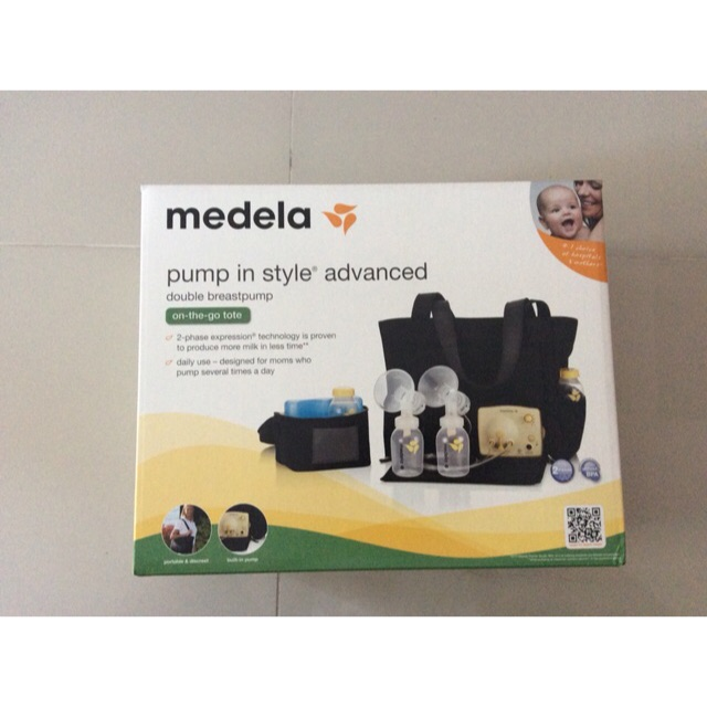 Medela Pump In Style Advanced On The Go Tote Bnew Shopee Philippines