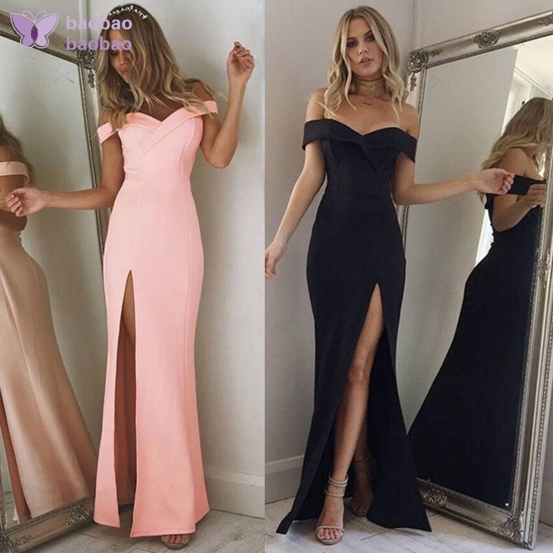 LONG BRIDESMAID PARTY COCKTAIL EVENING PROM BUCKLE WOMENS MAXI DRESS PLUS SIZE.