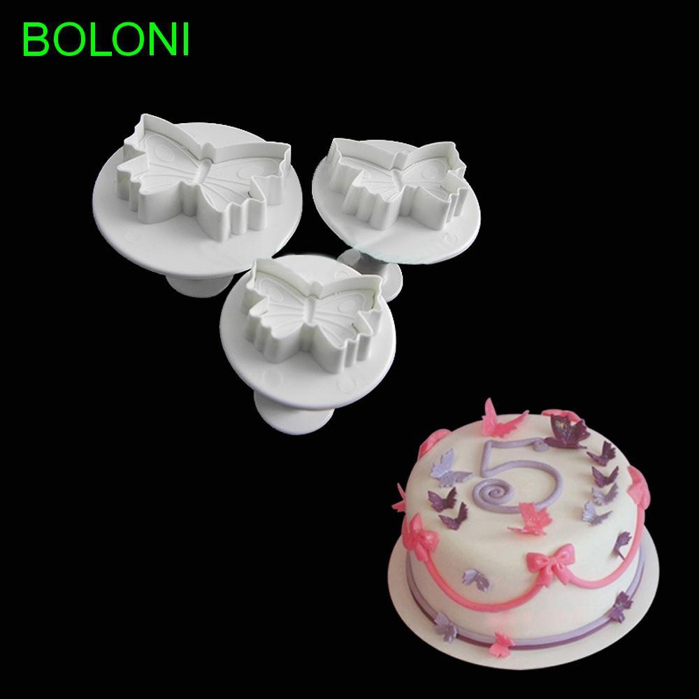 White Stylish Icing Wheel Cutter Modelling Cake Decor Fondant Sugarcraft