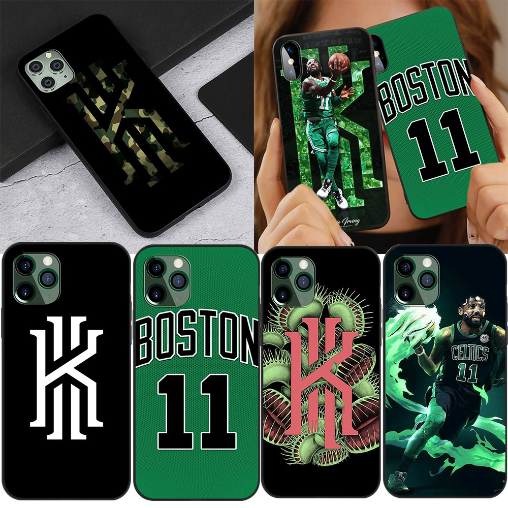 iPhone 5 5s 6 6s 7 8 Plus SE 2020 11 12 mini TPU Soft Cover Case Kyrie Irving Basketball