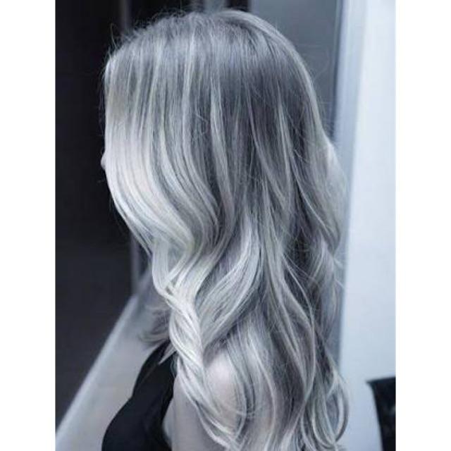 Ash Gray Hair Dye Color Hair Color