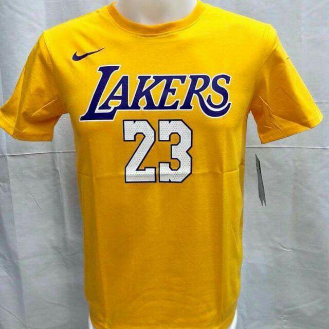 sale retailer 46d35 b3b79 [COD] LEBRON JAMES LAKERS T-Shirt