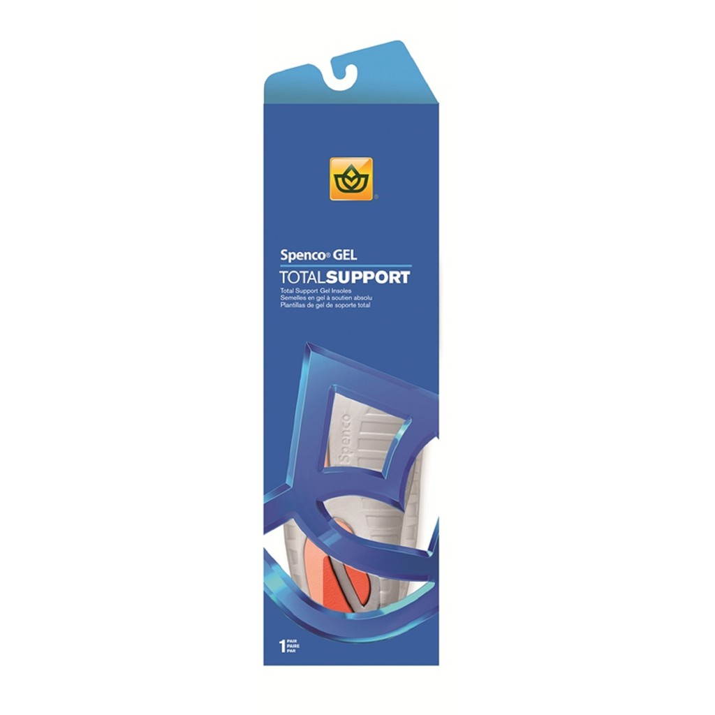 39b627e1cb1aed SPENCO Insoles Total Support Gel 463-00