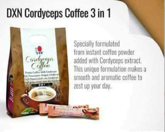 Dxn Cordyceps 3 In 1 Coffee Shopee Philippines
