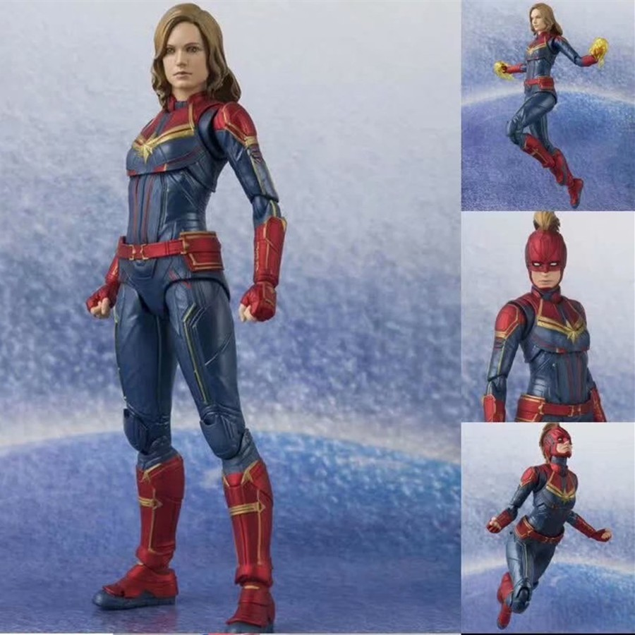 S.H.Figuarts Avengers Endgame Black Widow Action Figure Marvel China Version box