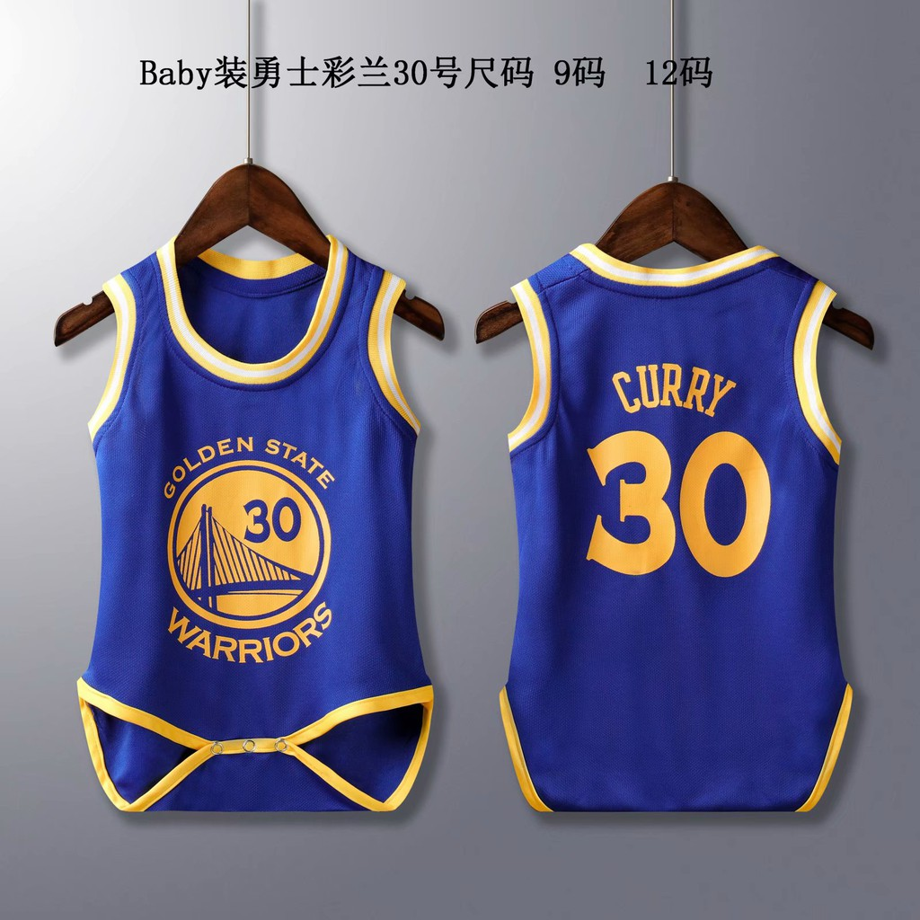 cheap for discount bde2b 9748c nba warriors 30 infant bb jersey suits
