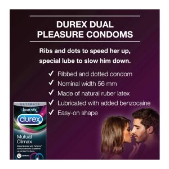 12s/box Adult only Prolong delay ejaculation durex