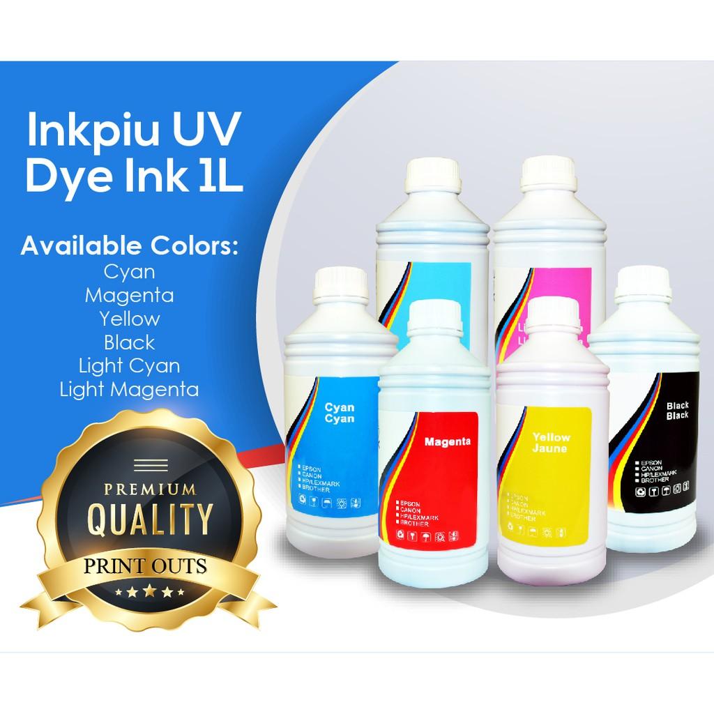 Uv Dye Ink For Epson Canon Brother Printers 100mlblack Fast Print Black 100ml Based Photo Premium Shopee Philippines
