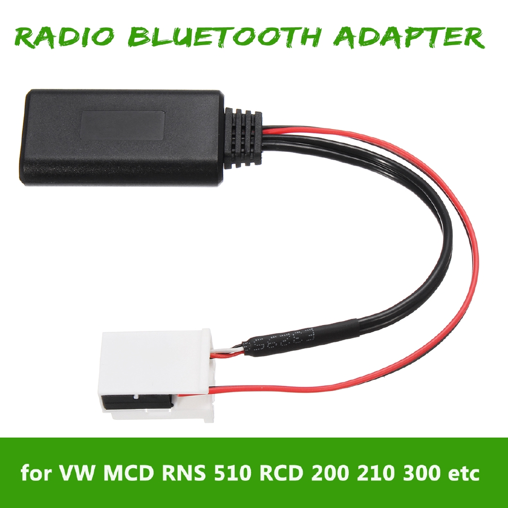 bluetooth Audio Adapter Cable For VW MCD RNS 510 RCD 200 510