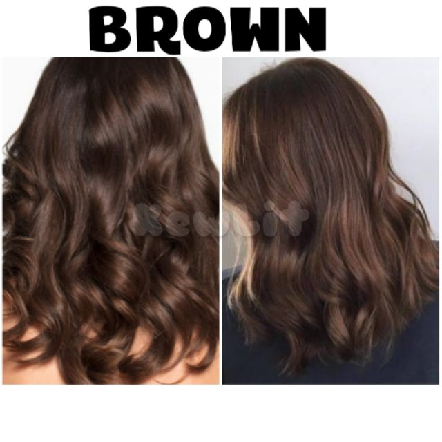 Brown Hair Color Set