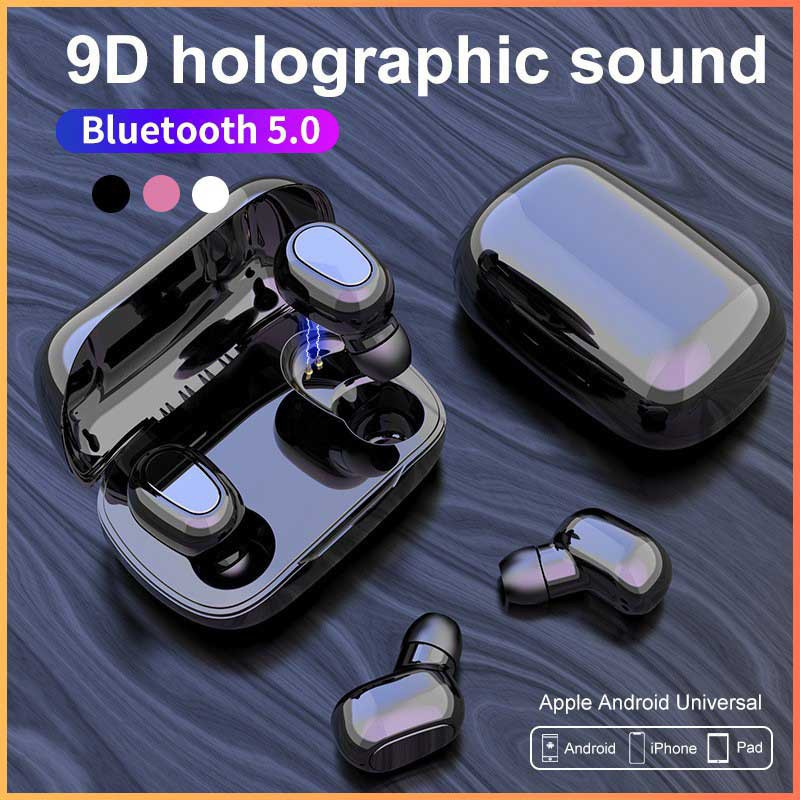 Wireless Earphone Bluetooth 5.0 TWS Android iphone universal