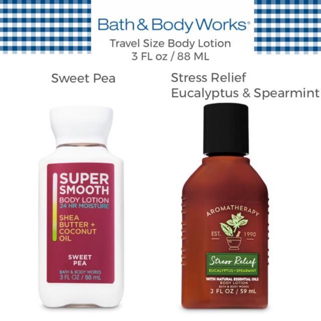 Cod Bath Body Works Recharge Sage Mint Body Lotion Shopee