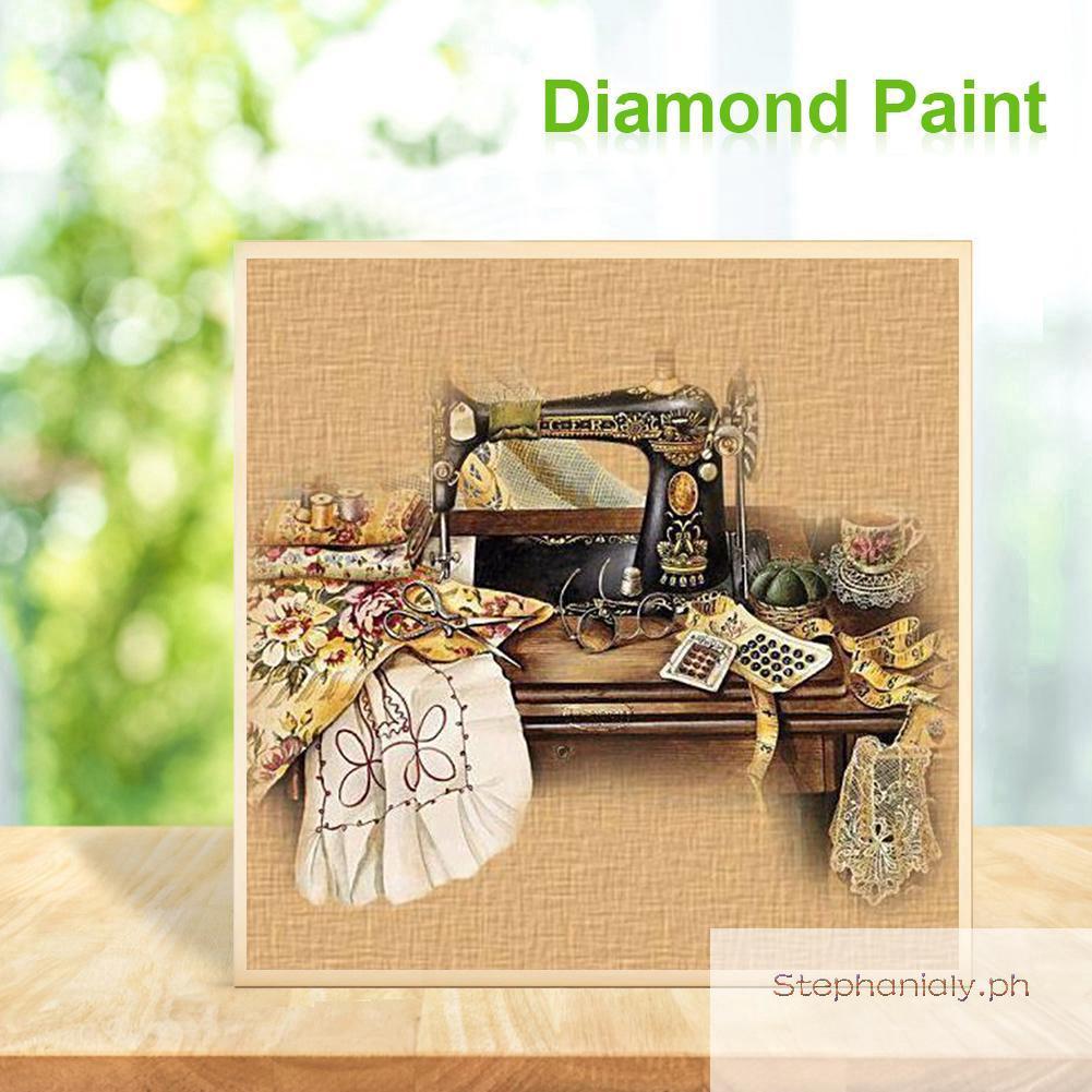 (30x40cm)5D Diamond Embroidery Sewing Machine DIY Diamond Painting Full Square Rhinestone Paste Crafts Needlework Gift Home Decoration