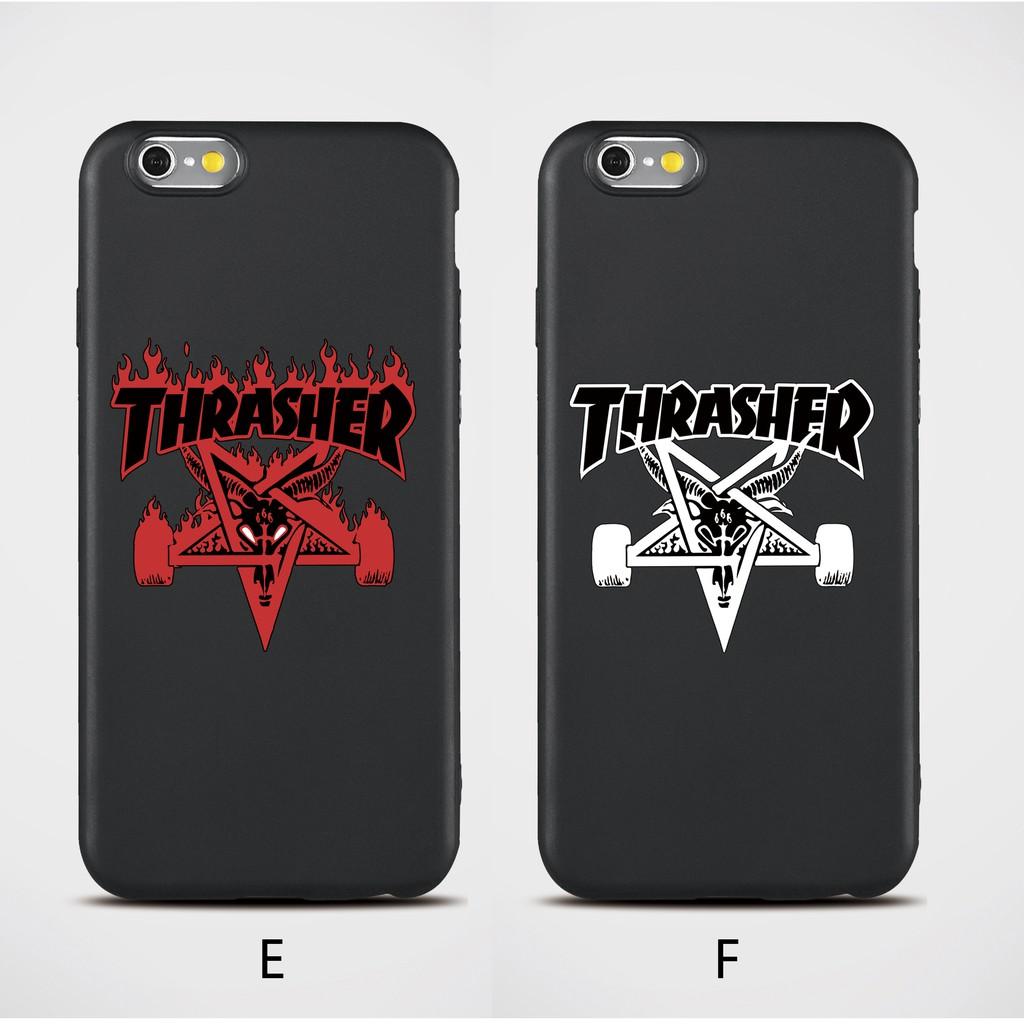 info for 7c0e5 4e7f4 Thrasher soft matte case iPhone 5 5s se 6 6 Plus 7 8 x