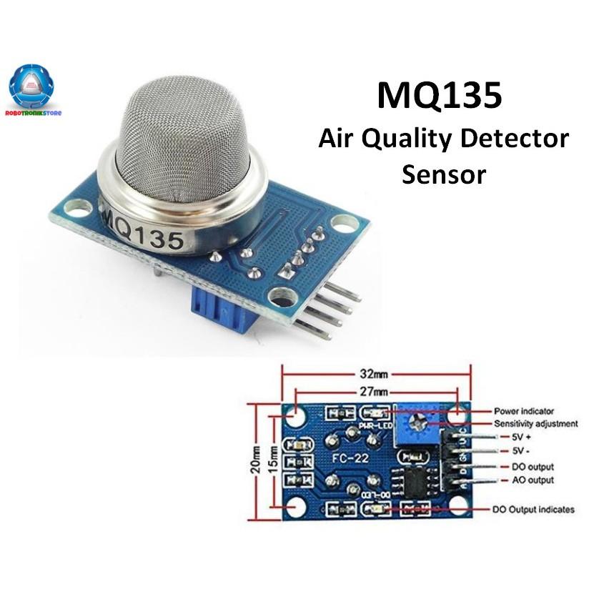 1PCS MQ135 MQ-135 Air Quality Sensor Hazardous Gas Detection Module Arduino
