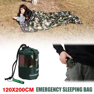 Best For Reusable Emergency Sleeping Bag Thermal Waterproof Travel Hiking