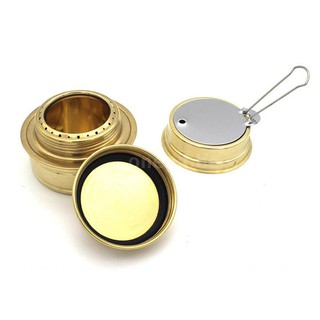 Portable Mini Spirit Burner Alcohol Stove For Outdoor Travel Hiking Camping Y2