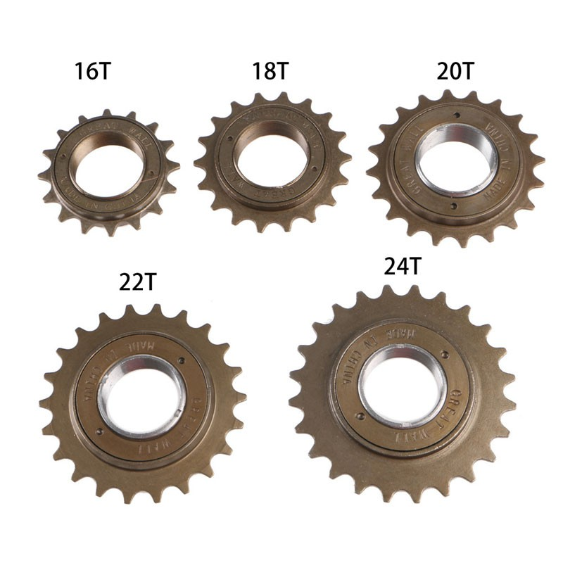 steel,BMX // Fixie single speed 18T Cassette Cogs Shimano spline 7 pcs 12T