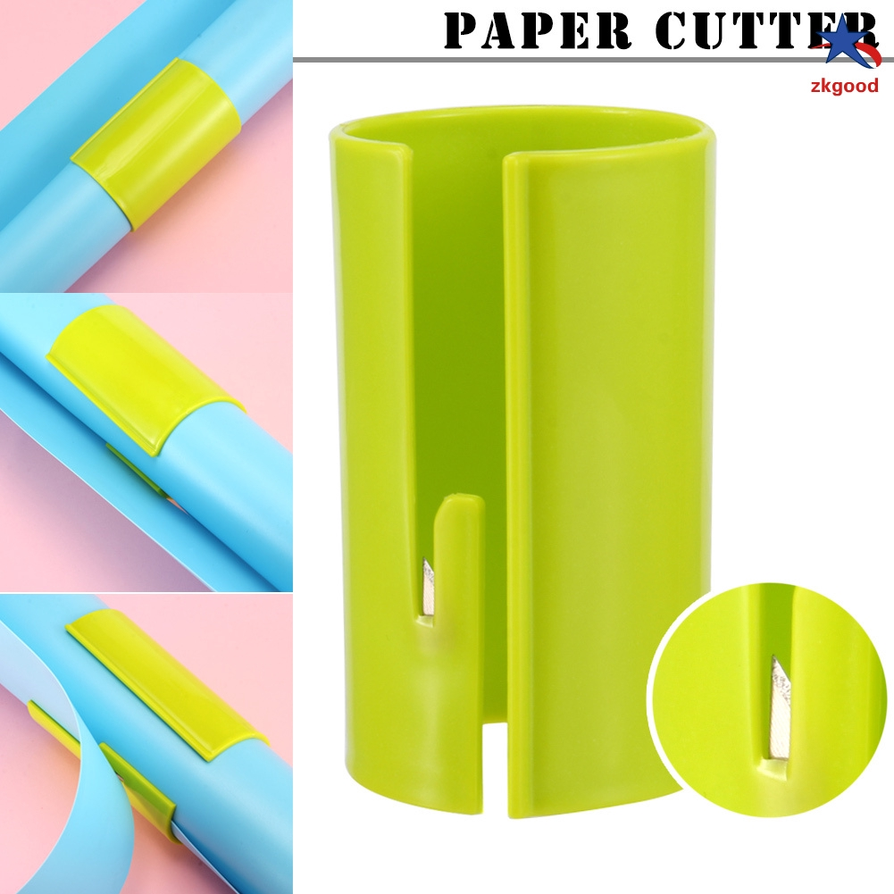 1 Pcs Wrapping Paper Cutter Sliding Roll Prefect Line Every Single Cutting Tool