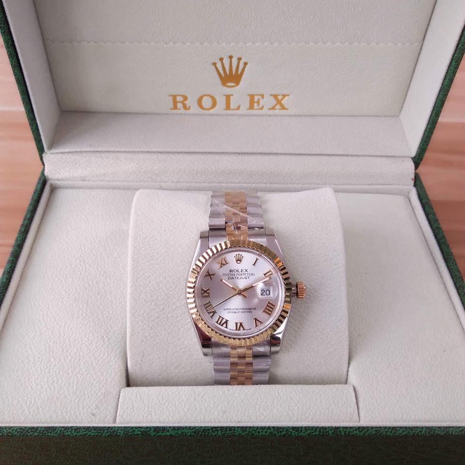 64be2484009 Rolex Datejust 2-toned Wrist Watch For Men and Women