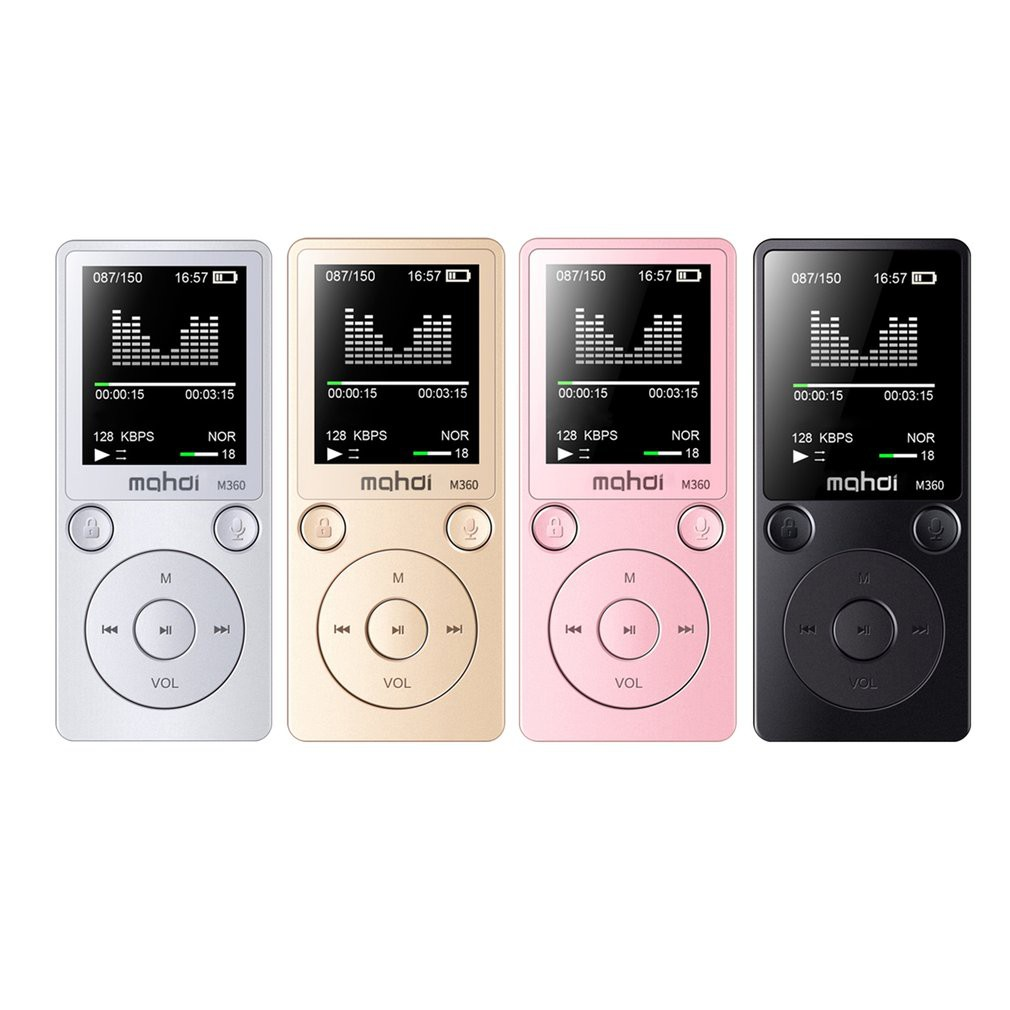 ✅Touch Screen Metal MP3 Player HIFI Music Player