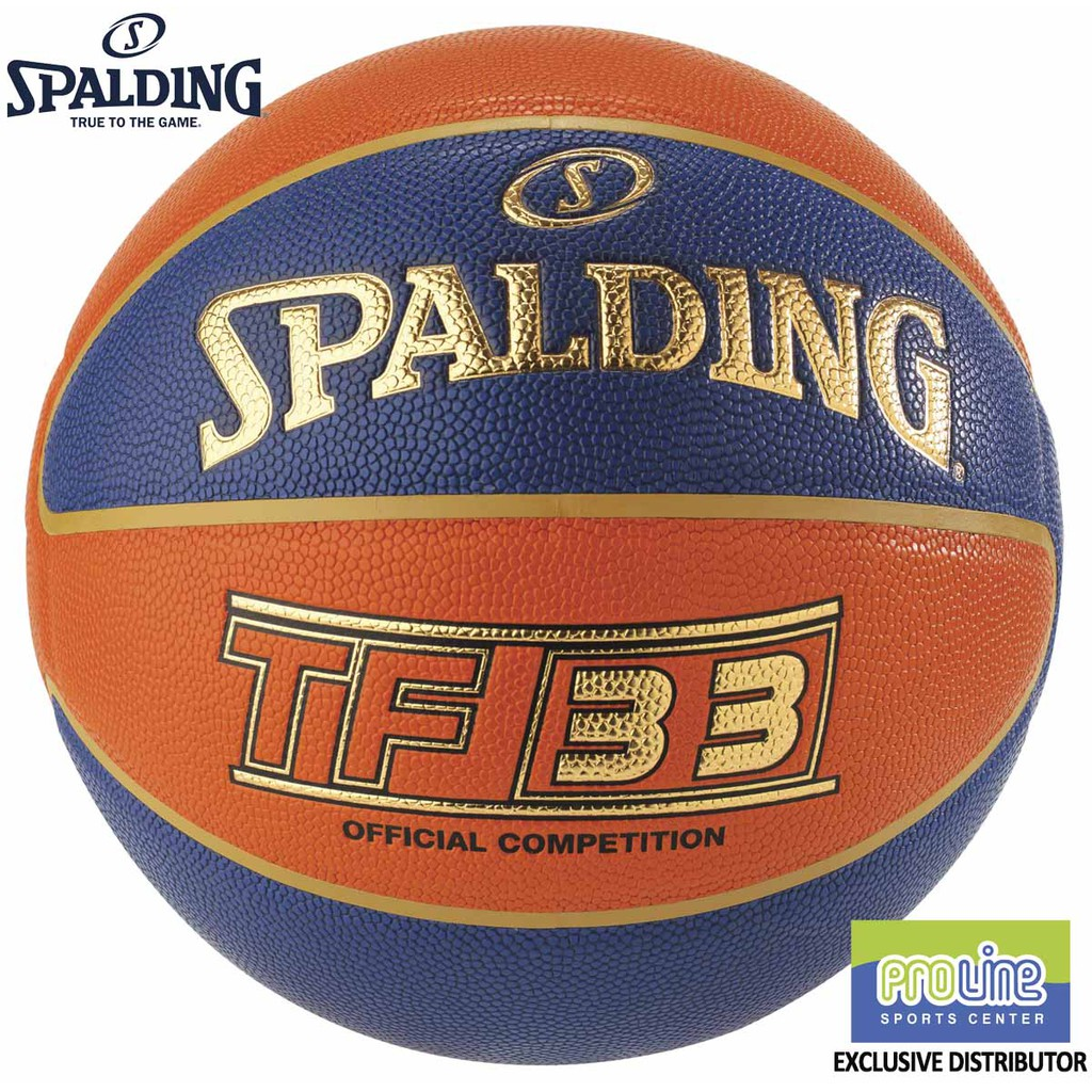 Spalding TF 33 FIBA 3x3 Official Game Indoor and Outdoor Basketball