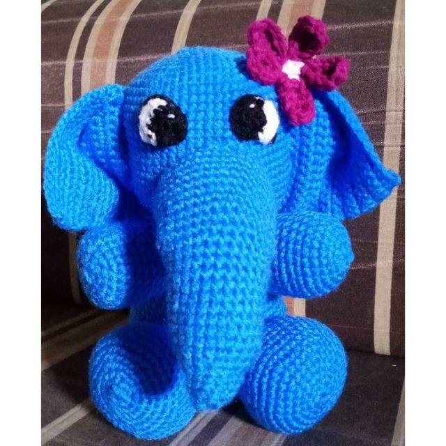 Cute Elephant Free Crochet Patterns   640x640