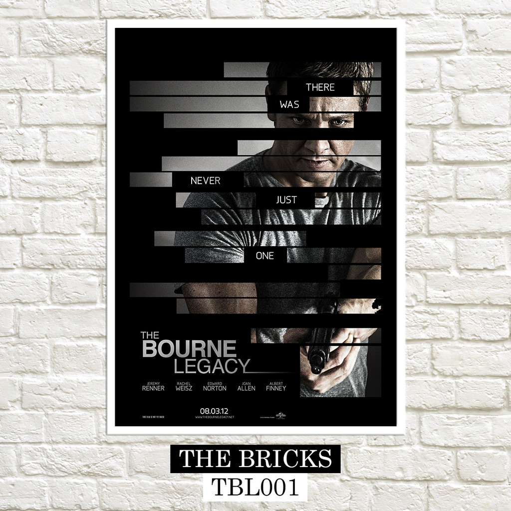 The Bourne Legacy 2012 Posters Shopee Philippines