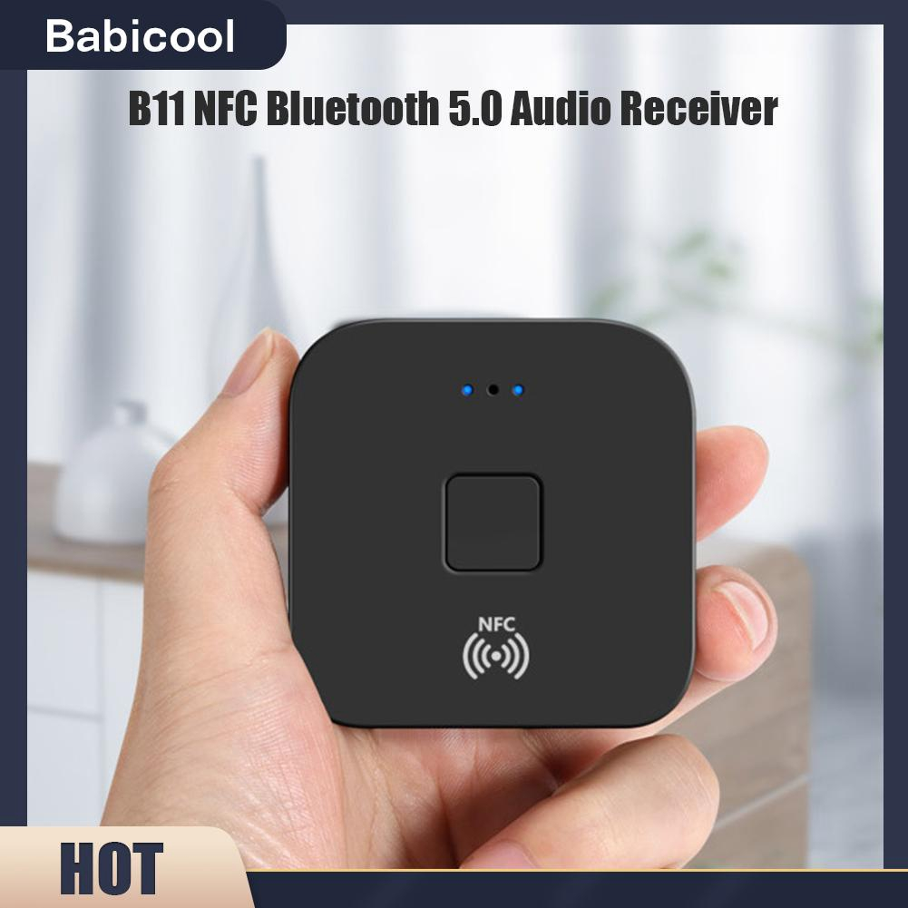 B11 Wireless Audio Music Receiver Adapter Nfc Bluetooth 5 0 Device Accessories Shopee Philippines