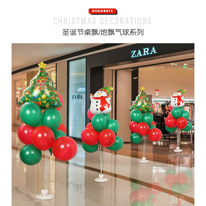 2020 Christmas decorations mall hotel window classroom ballo