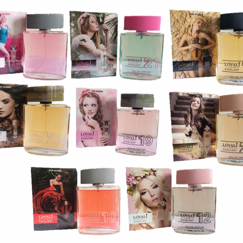 Lovali Eau De Parfum For Women Cool Water 100ml Perfume Shopee