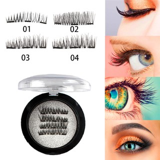 59c503ab020 Reusable 3D Magnetic Eyelashes Natural Eye Lashes Extension | Shopee ...
