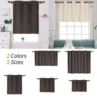 Short Blackout Curtains For Bedroom Kitchen Curtains Balcony Shopee Philippines