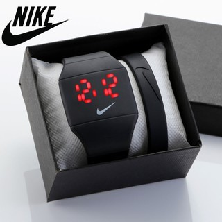 prisa Crónica Lógicamente  Nike LED Touch Screen Digital Wrist Watch Sport Gym Jogging Watches |  Shopee Philippines
