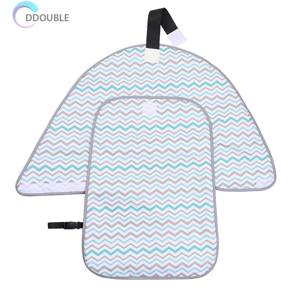 prettygood7 Portable Baby Foldable Waterproof Diaper Nappy Change Mat Travel Pad Green