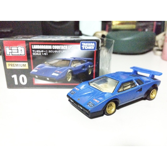 Sealed Takara Tomica Lamborghini Countach Lp500s 51581 Shopee