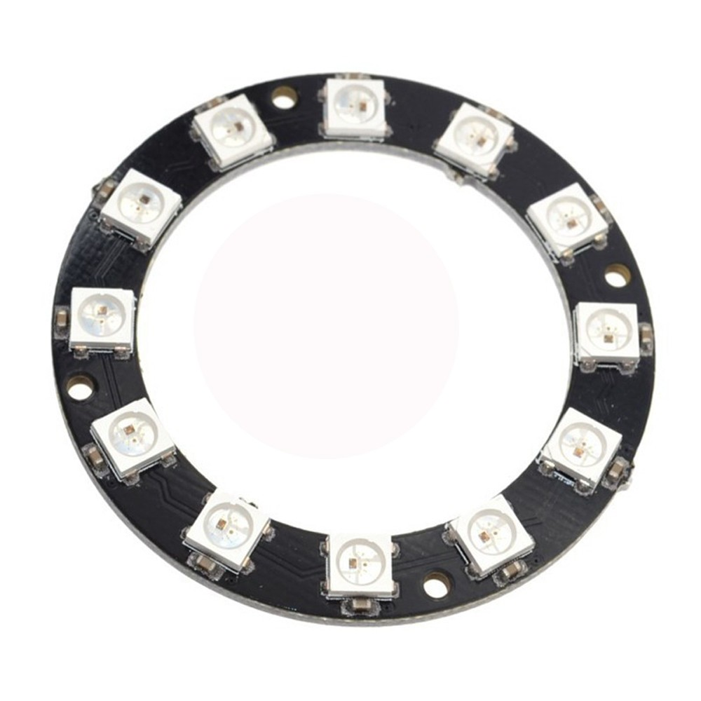 5050 12-bit Rgb Led Ring Ws2812 Round Decoration Bulb Perfect For Arduino Promotion With The Most Up-To-Date Equipment And Techniques Office & School Supplies Bright Utility Knife