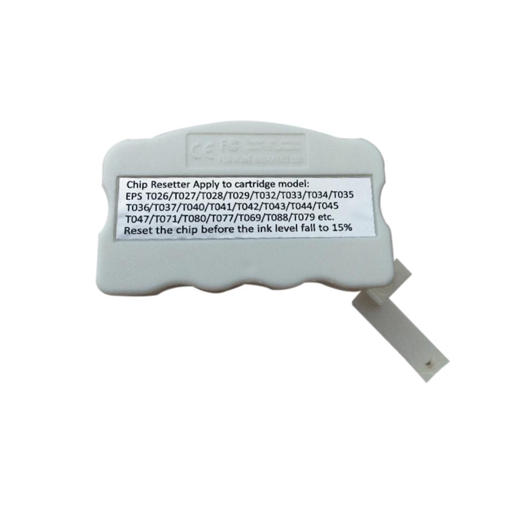 Chip Resetter Printer Parts Ink Cartridges White Maintenance Multifunction  For EPSON R310 R350