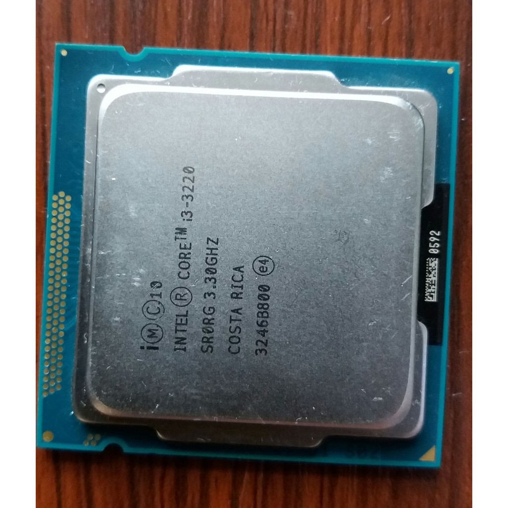 Intel/Intel I3 3220CPU3 3G Quad-core Processor 1155 Pin 22nm Desktop Cpu