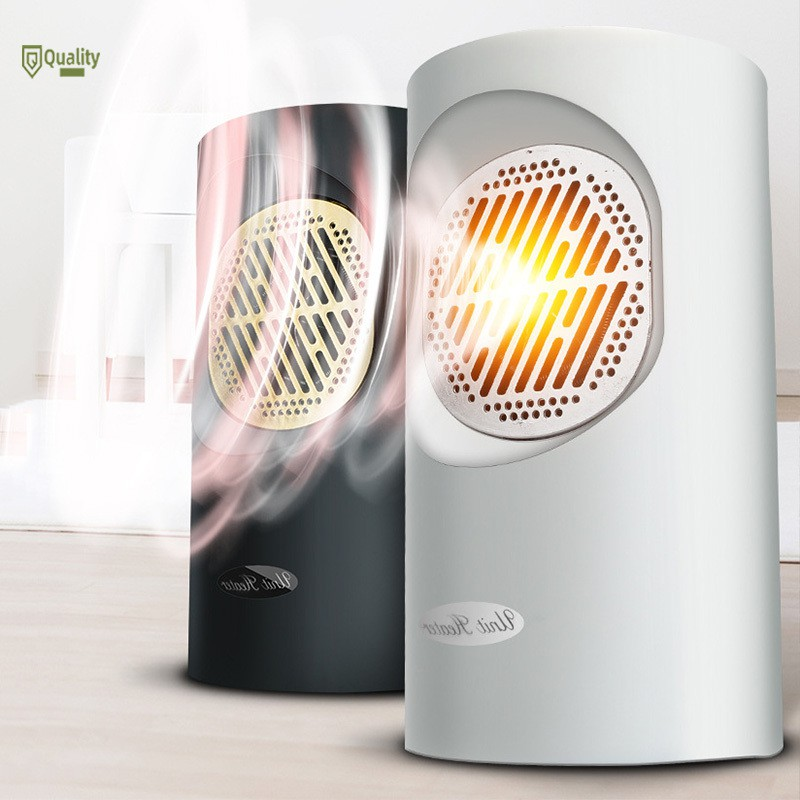 Portable Touchscreen Silent Electric Fan Heater Warm Thermostat Fast Heating