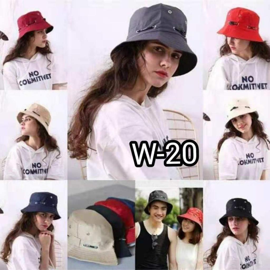 Korean Bucket Hat Summer Cap Fashion Shopee Philippines