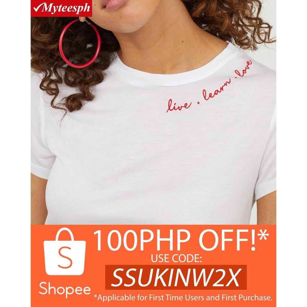 4fffe0b6 Dauntless Blessed White Christian Tee Shirt | Shopee Philippines