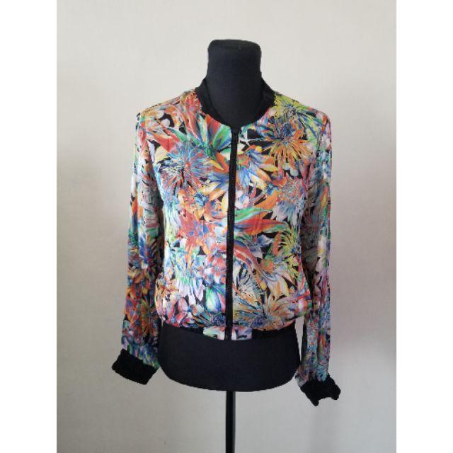 c2e051fed Plain bomber jacket | Shopee Philippines
